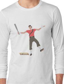 Team Fortress 2 | Minimalist Scout Long Sleeve T-Shirt