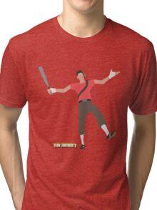 Team Fortress 2   Minimalist Scout Tri-blend T-Shirt