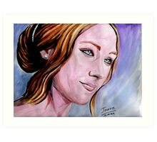 Saoirse Ronan  Art Print