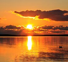 Sunset on Sleneset by Davgoss