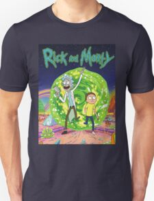 Rick and Morty Tv Series Unisex T-Shirt