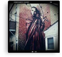 Obey Mural #1 Canvas Print