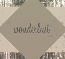 Wonderlust Sticker
