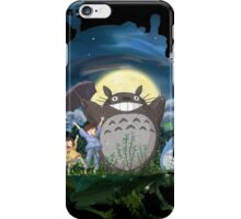 Howls Totoro V2 iPhone Case/Skin