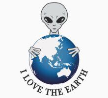 I love earth Kids Tee