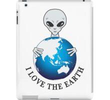 I love earth iPad Case/Skin