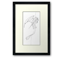 Toothless - Continuous Fine Line Framed Print