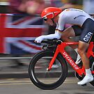 Tony Martin - London 2012 Silver Medalist Time Trial by Nick  Gill