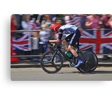 Chris Froome - London 2012, Olympic Time Trial, Bronze Medal Canvas Print