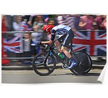 Chris Froome - London 2012, Olympic Time Trial, Bronze Medal Poster