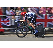 Chris Froome - London 2012, Olympic Time Trial, Bronze Medal Photographic Print