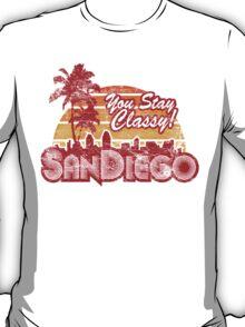 You Stay Classy! San Diego - Worn look T-Shirt