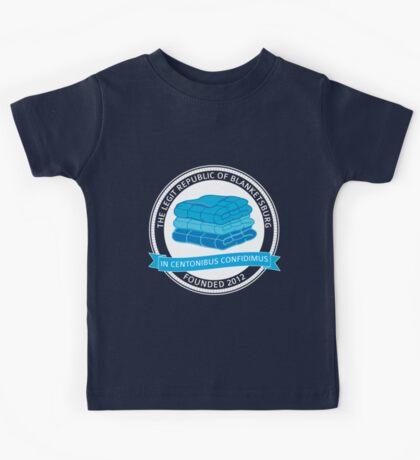 The Legit Republic of Blanketsburg Kids Tee