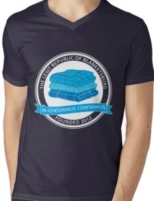 The Legit Republic of Blanketsburg Mens V-Neck T-Shirt