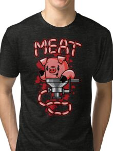 Nice to Meat You! Tri-blend T-Shirt