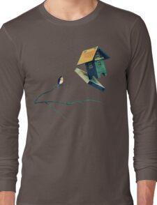 Flying Bird...house Long Sleeve T-Shirt