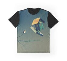 Flying Bird...house Graphic T-Shirt