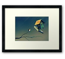 Flying Bird...house Framed Print