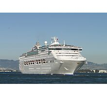 Sea Princess Departs Photographic Print