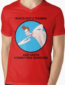 Who Killed All The Daleks? Mens V-Neck T-Shirt