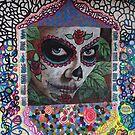 Lady At The Wall - Señorita En El Muro by Bernhard Matejka