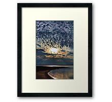 Curving Shores Framed Print