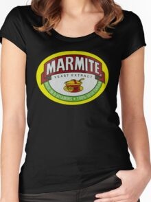 Marmite Women's Fitted Scoop T-Shirt
