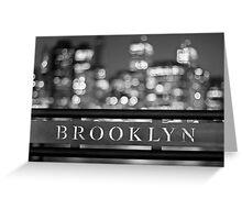 Brooklyn Greeting Card