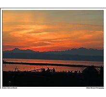 October Skies in Everett,WA Photographic Print