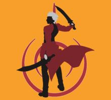 Fate Stay Night - Archer Silhouette by Tomer Abadi