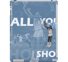 Call Your Own Shots iPad Case/Skin