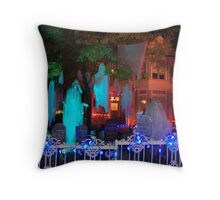 Wandering Ghosts Throw Pillow