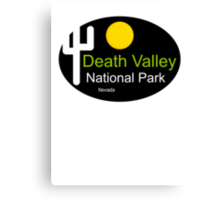 death valley national park Nevada t shirt Canvas Print