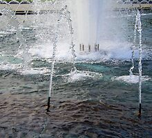 A World War Fountain by Cora Wandel