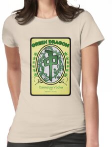 Green Dragon Label Womens Fitted T-Shirt
