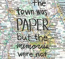 Paper Towns case by novillust
