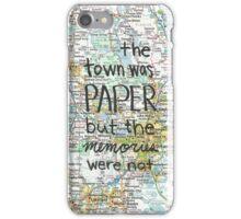 Paper Towns case iPhone Case/Skin