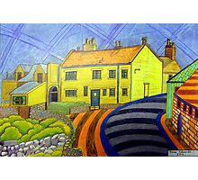 364 - CRASTER REDECORATED - DAVE EDWARDS - COLOURED PENCILS - 2012 Photographic Print