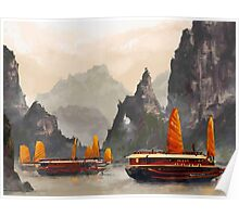 Ha Long Bay Poster