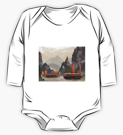 Ha Long Bay One Piece - Long Sleeve