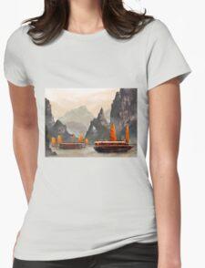 Ha Long Bay Womens Fitted T-Shirt