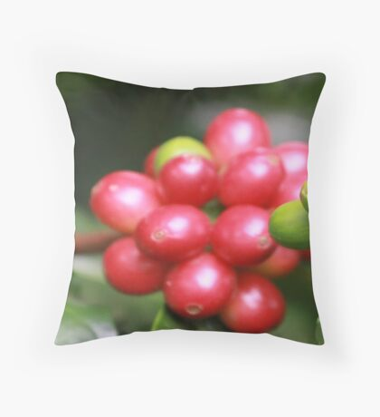 Kona Coffee Throw Pillow