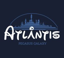 The Wonderfull City of Atlantis (Stargate) by girardin27