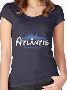 The Wonderfull City of Atlantis (Stargate) Women's Fitted Scoop T-Shirt
