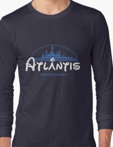 The Wonderfull City of Atlantis (Stargate) Long Sleeve T-Shirt
