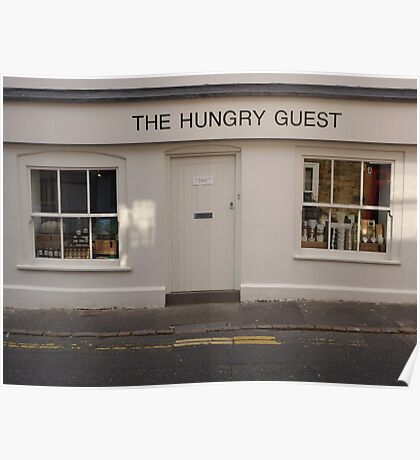 the hungry guest Poster
