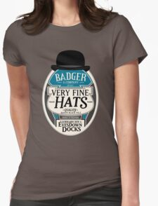 Badger's Very Fine Hats Womens Fitted T-Shirt
