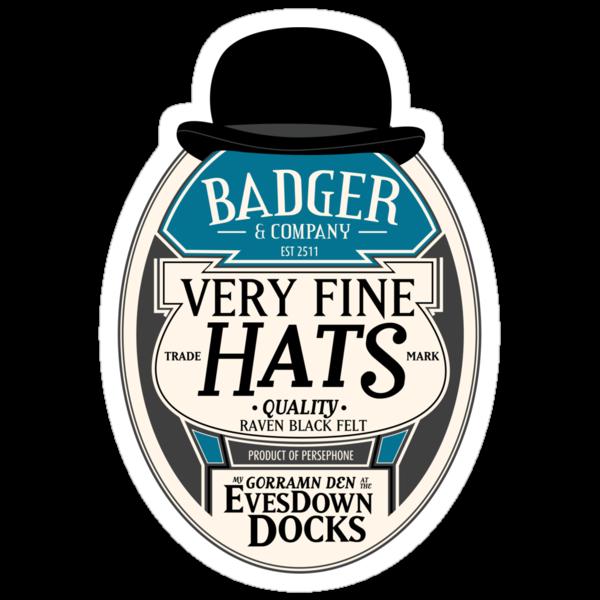 Badger's Very Fine Hats by girardin27