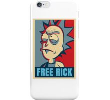 Free Rick iPhone Case/Skin