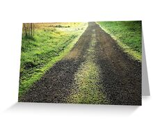 A new day, a new life Greeting Card